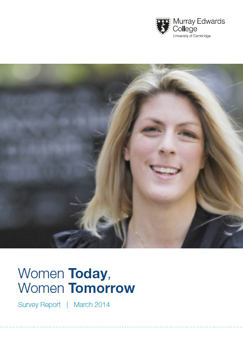 Women Today, Women Tomorrow front cover