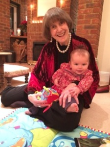 46 Joy Richardson with Millie XMAS